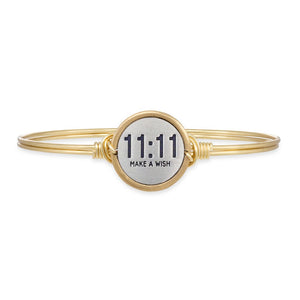 Luca and Danni 11:11 Make A Wish Bangle Bracelet