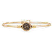 Luca and Danni Aries Zodiac Bangle Bracelet