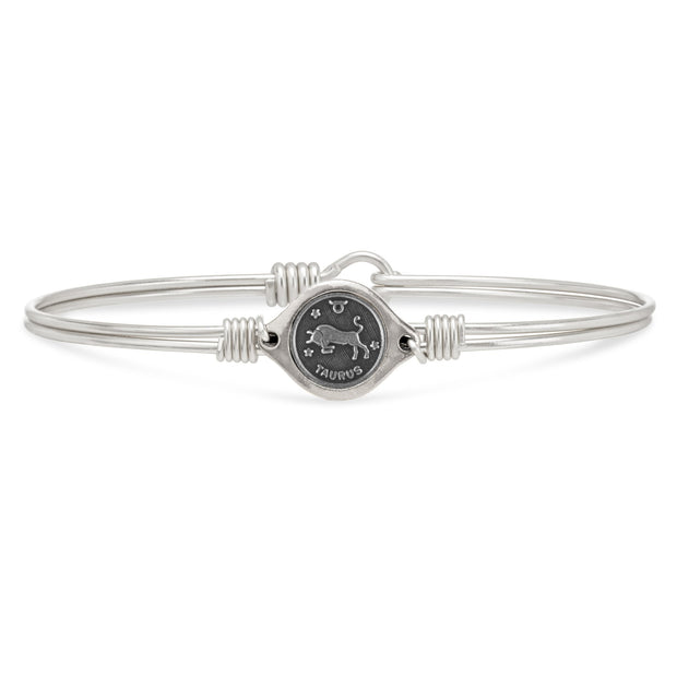 Luca and Danni Taurus Zodiac Bangle Bracelet