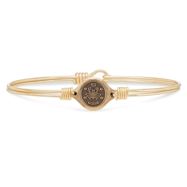 Luca and Danni Cancer Zodiac Bangle Bracelet