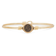 Luca and Danni Libra Zodiac Bangle Bracelet