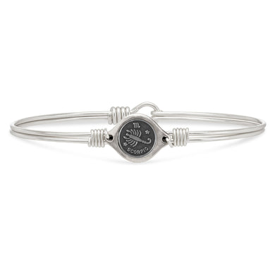 Luca and Danni Scorpio Zodiac Bangle Bracelet