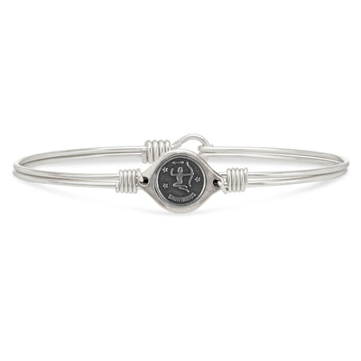 Luca and Danni Sagittarius Zodiac Bangle Bracelet