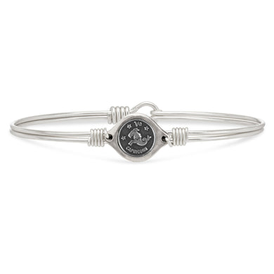 Luca and Danni Capricorn Zodiac Bangle Bracelet