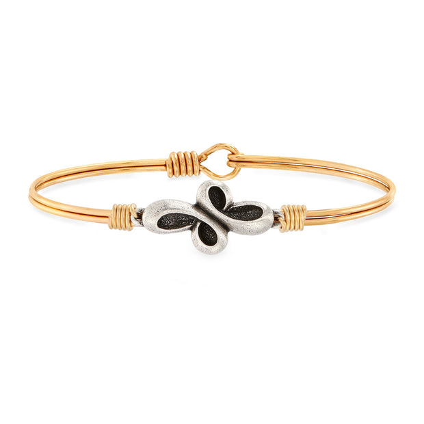 Luca and Danni Eternal Cross Bangle Bracelet