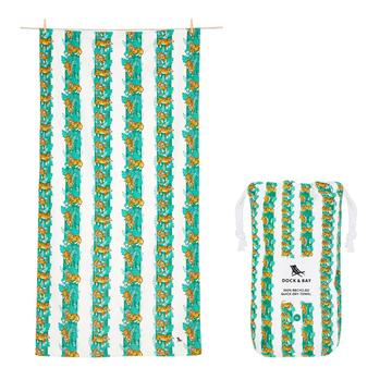 Dock & Bay Towel - Easy Tiger