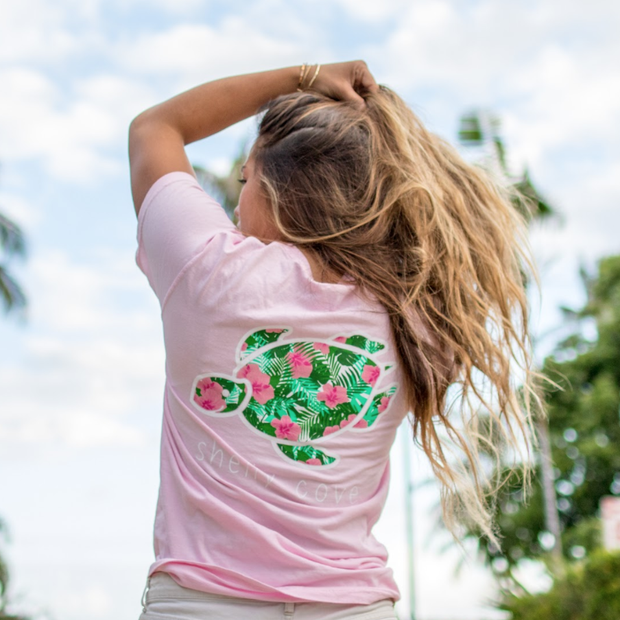 Tropical Fern Short Sleeve Tee