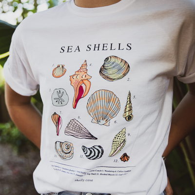 Vintage Seashell Short Sleeve Tee