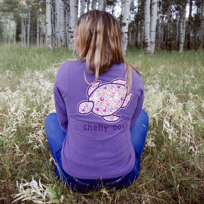 Ditsy Floral Long Sleeve Tee