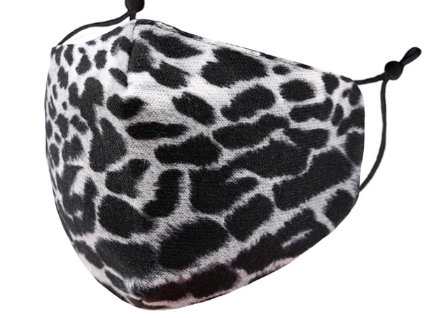 Snow Leopard Adult Face Mask