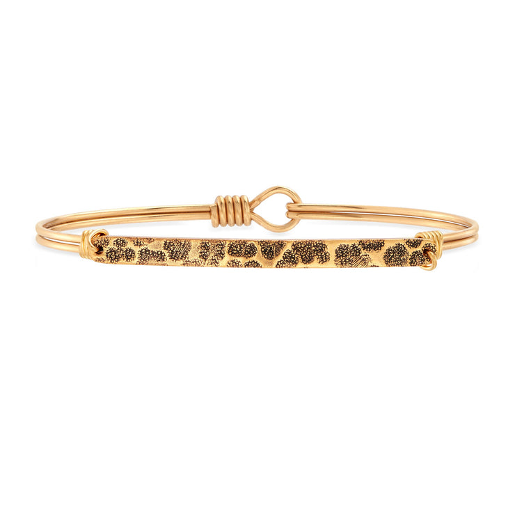 Sidney Bangle Bracelet in Leopard