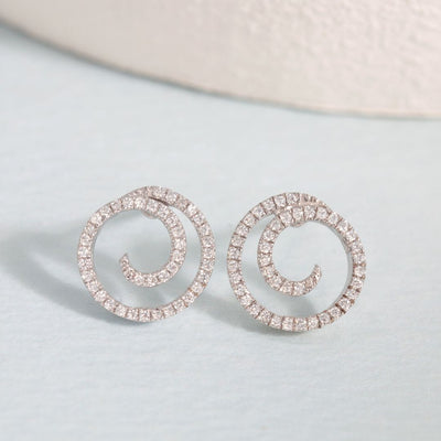 Swirl, Girl Earrings