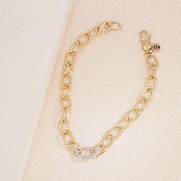 Strongest Link Diamond Bracelet