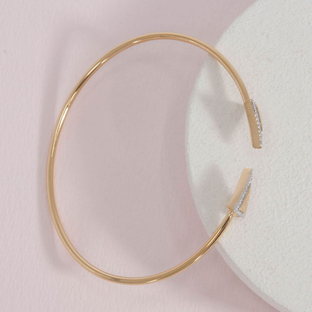 Triangle Flexi Bangle