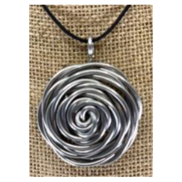The Artist Jay Flower Nest Pendant Necklace