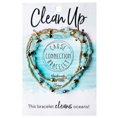 Cause Connection Clean Up Bracelet