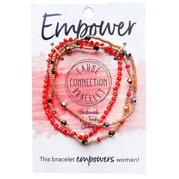 Cause Connection Empower Bracelet