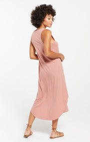The Reverie Dress in Wild Rose