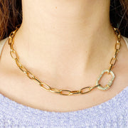 Stand. Out Link Necklace