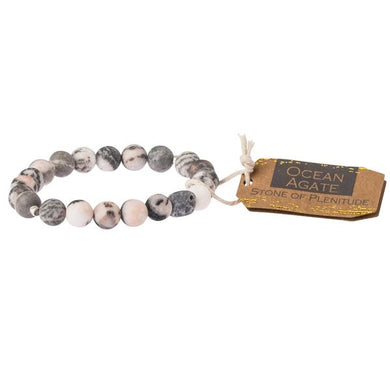 Scout Curated Wears Stone Bracelet - Ocean Agate
