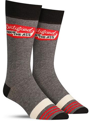 Certified Pain Men's Crew Socks