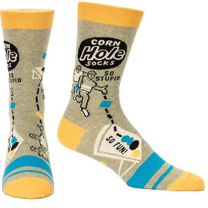 Corn Hole Men's Crew Socks