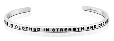She Is Clothed In Strength and Dignity MantraBand