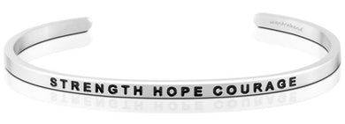 Strength Hope Courage MantraBand