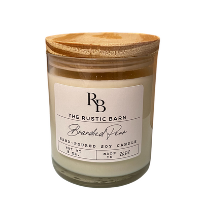 Brandied Pear Rustic Barn 8 oz Candle