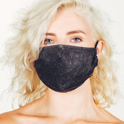 Fydelity Black Acid Wash Face Mask