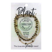 Cause Connection Plant Bracelet