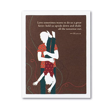 """Love Sometimes Wants"" Father's Day Card"