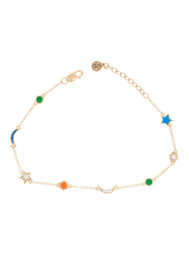 Vibrant Sky Diamond Accent Bracelet