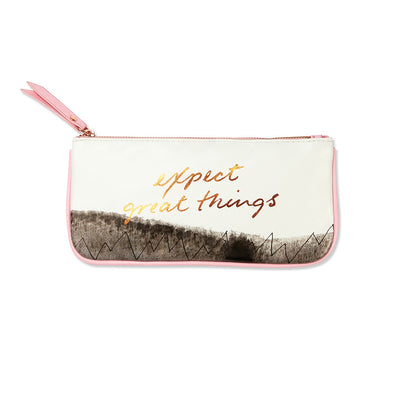 Expect Great Things Pouch