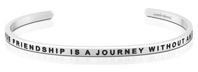 A True Friendship Is A Journey Without An End MantraBand