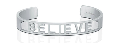 Believe Statement Bracelet