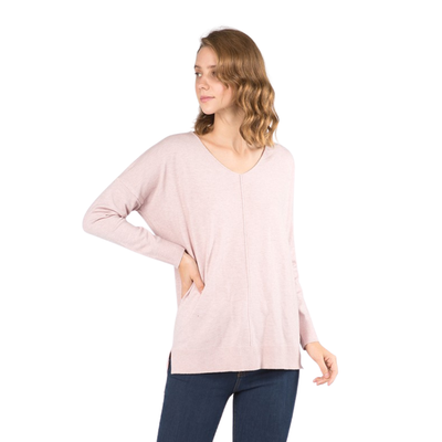 Perfect Sweater Peony Pink