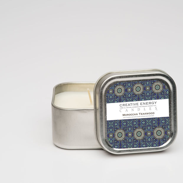 Moroccan Teakwood Soy Lotion Candle