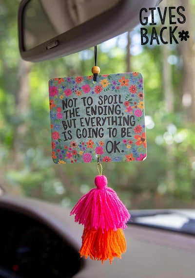 Everything is Going to be Ok Air Freshener