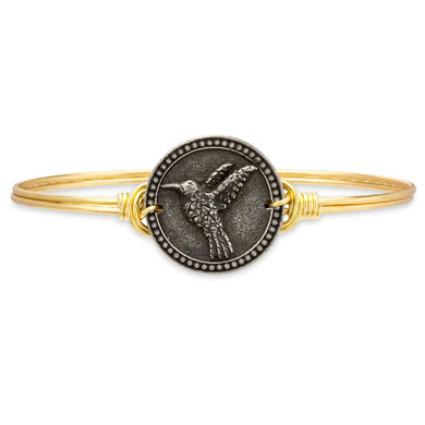 Luca and Danni Hummingbird Bangle Bracelet