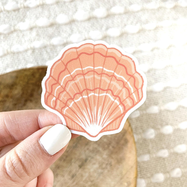 Scallop Shell Sticker