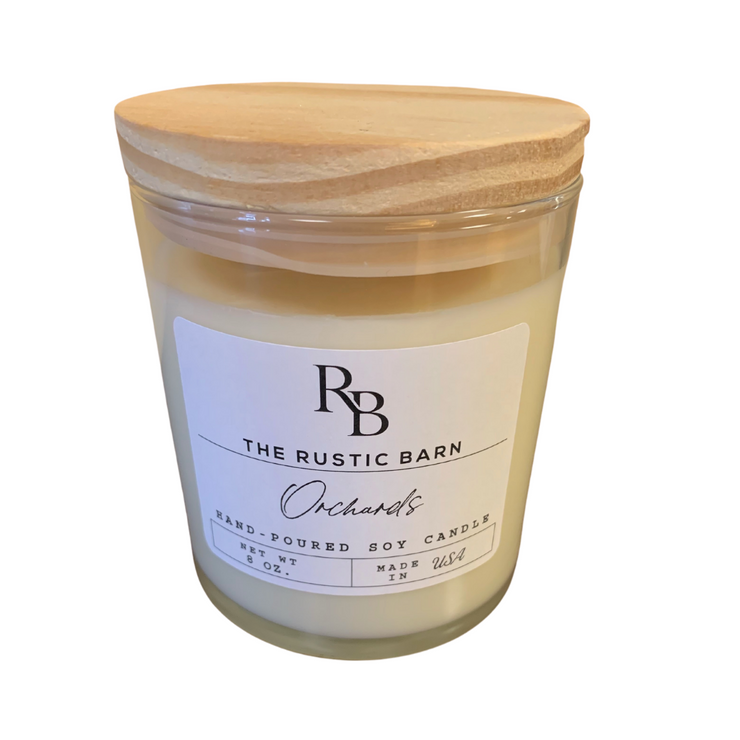 Orchards Rustic Barn 8 oz Candle