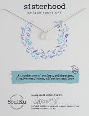 Soulku Moonstone Luxe Necklace for Sisterhood
