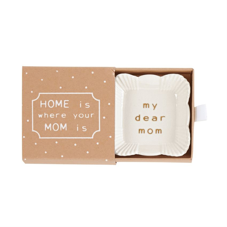 Square Mom Trinket Dish