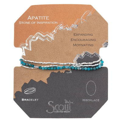 Scout Curated Wears Delicate Stone Wrap - Apatite