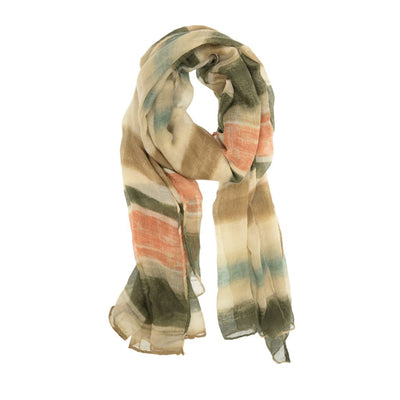 Brushed Stripe Scarf