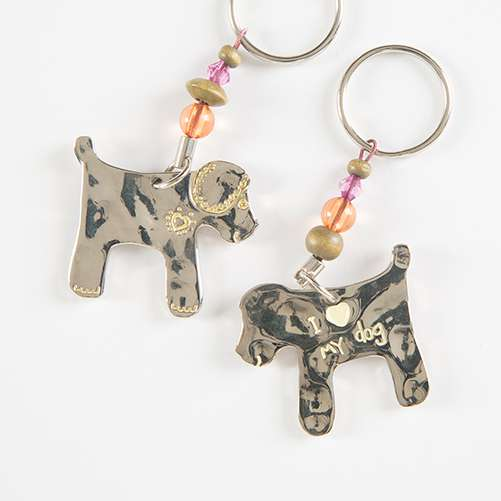Dog Token Keychain