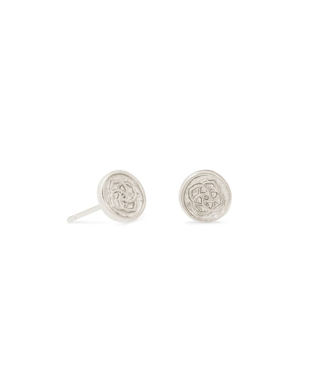Dira Coin Stud Earrings