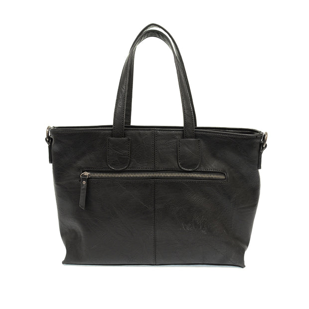 Michelle Mid Size Zip Top Convertible Tote Bag