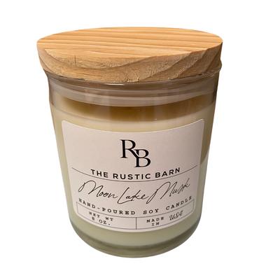 Moon Lake Rustic Barn 8 oz Candle